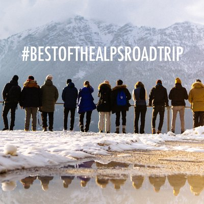Der Best of the Alps Winter Roadtrip powered by Audi quattro