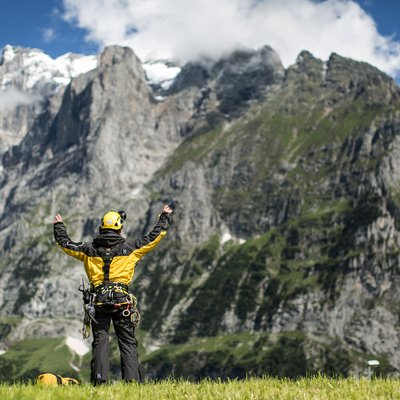 From his backyard to the Eiger North Face
