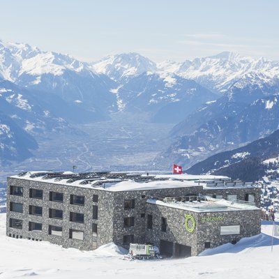 The unusual story of the hotel at over 2,000 metres above sea level